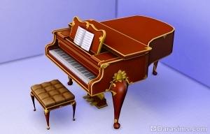 карьерная награда пианино в sims 4