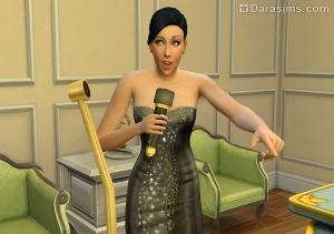 комик в The Sims 4