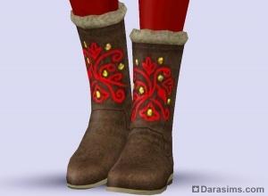 Женские сапоги в Sims 3 Store