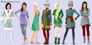 Женская одежда в CAS