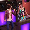 Пойте от души в караоке из «The Sims 4 Жизнь в городе»