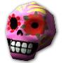 Сахарный череп Арт
