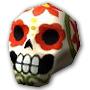 Сахарный череп Джефф