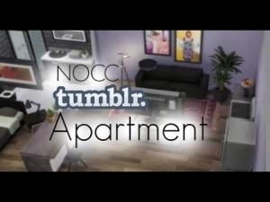 NoCC апартаменты в Симс 4