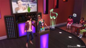 караоке в The Sims 4 Жизнь в городе