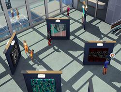 Симс 4 Жизнь в городе: галерея в Сан Мишуно