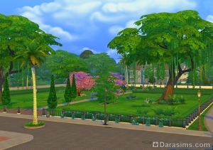 Магнолия Променейд в Sims 4 Get to Work