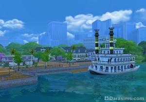 Речной пароход