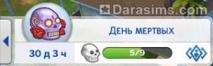 Счетчик испытания в The Sims 4