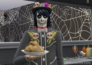 Новое блюдо Хлеб мертвых в Симс 4