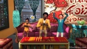 симы играют в видеоигры