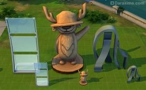 Уменьшение объектов в Sims 4