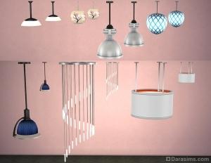 Уменьшение светильников в Sims 4