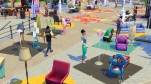 блошиный рынок в the sims 4 жизнь в городе