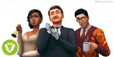 Каталог «The Sims 4 Гламурный винтаж»