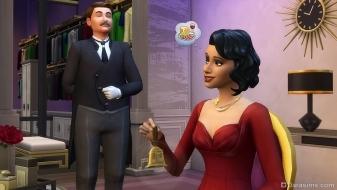 Дворецкий в каталоге «The Sims 4 Гламурный винтаж»