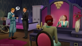 Туалетный столик из каталога «The Sims 4 Гламурный винтаж»