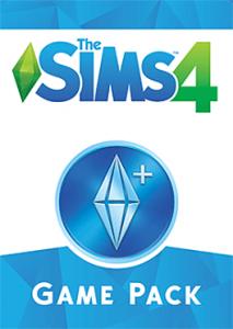 Обложка игрового набора к Симс 4