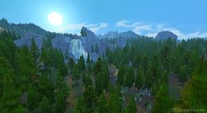 Скриншоты Гранит Фоллз в Sims 4