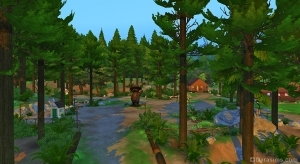 Скриншоты Гранит Фоллз в Симс 4 в поход