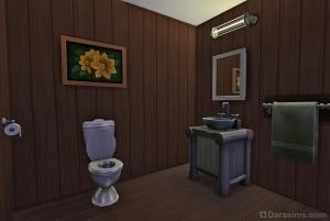 Туалет в летнем домике