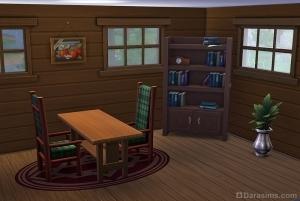 """Домик """"Отпуск в лесу"""" в The Sims 4 Outdoor retreat"""