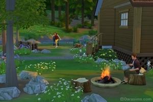 Развлечения на заднем дворе дома