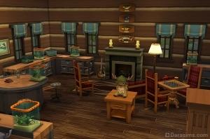 Музей насекомых в The Sims 4 в поход