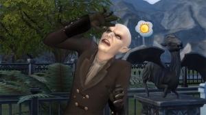 Вампир на солнце в Симс 4
