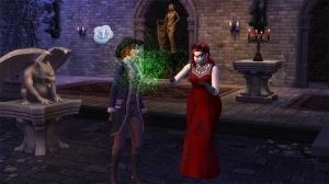 Вампир в Форготн Холлоу в Симс 4
