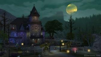 Форготн Холлоу в игровом наборе The Sims 4 Вампиры