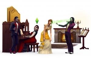 Орган в наборе The Sims 4 Вампиры