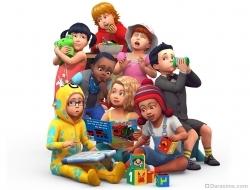 Малыши в обновленной игре The Sims 4