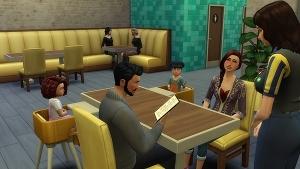 Малыши в ресторане