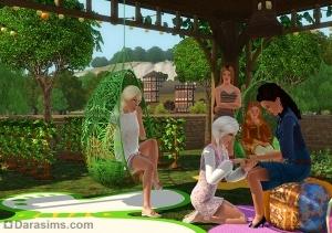 Набор Богемный сад из Sims 3 Store