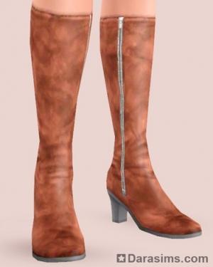 Женские сапоги в The Sims 3