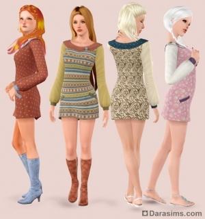 Женская одежда в The Sims 3 Store