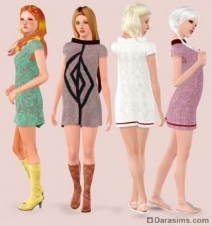 Платье для симов в Симс 3 Стор