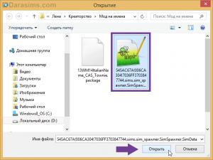 Файл рандомного подбора имен в CAS Sims 4