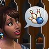 Играйте в боулинг в каталоге «The Sims 4 Вечер боулинга»