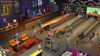 Дорожки для боулинга в каталоге «The Sims 4 Вечер боулинга»