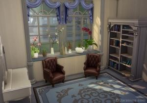 Готовая комната с подоконником