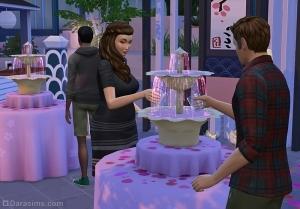 Чай с сакурой на фестивале романтики