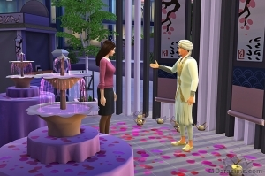 Знаток романтики в Симс 4 Жизнь в городе
