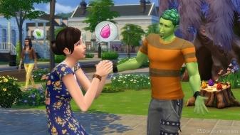 Персонаж напрашивается на волшебные бобы у ростомана