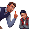 Карточки шанса советов детям и подросткам в The Sims 4 Родители
