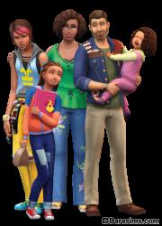 Рендер The Sims 4 Родители