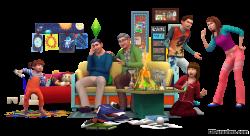 Семейные отношения в The Sims 4 Родители