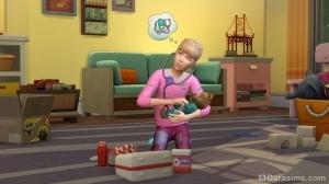 Докторский набор для детей в The Sims 4 Родители