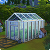 Декоративная теплица в The Sims 4